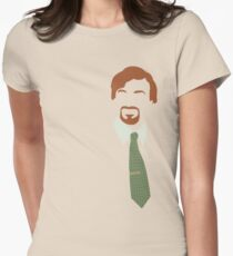 Flight of the Conchords Silly-ettes: Murray Women's Fitted T-Shirt