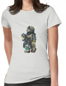 Rabbit 2 Womens Fitted T-Shirt