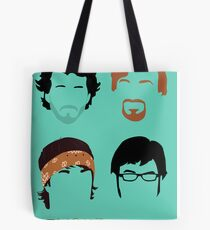 Flight of the Conchords: Silly-ettes Tote Bag
