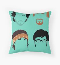 Flight of the Conchords: Silly-ettes Throw Pillow