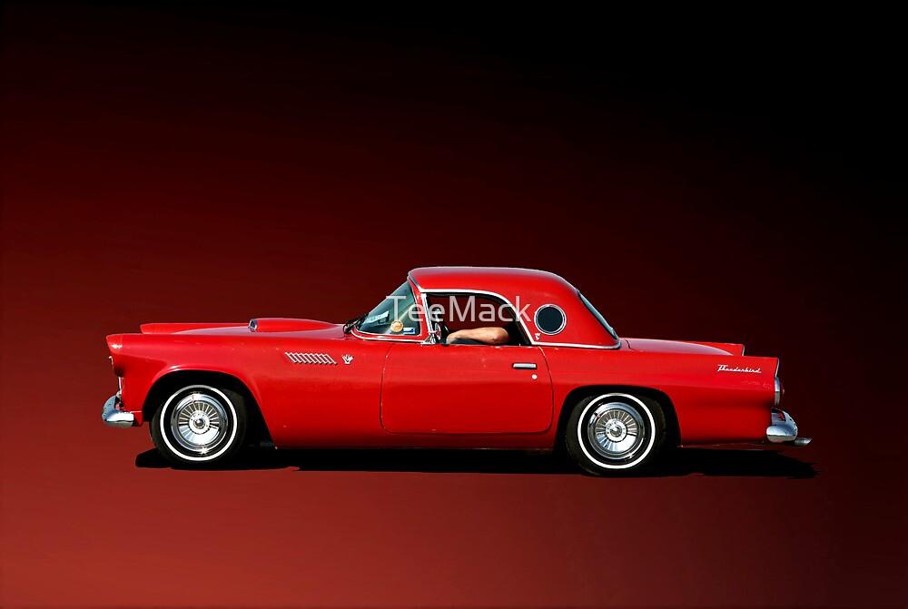 1956 Ford Thunderbird by TeeMack