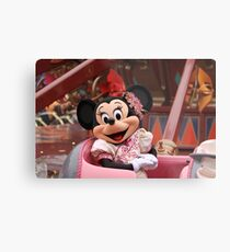 Mouse in a Chair Metal Print