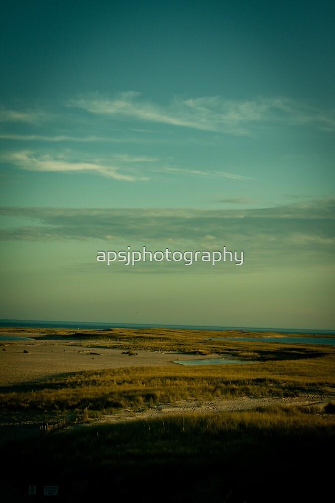 Lighthouse beach Chatham Massachusetts by apsjphotography