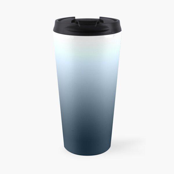 Blue gradient - top to bottom Travel Mug