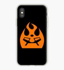 Lava Strike Force Emblem - Orange iPhone Case