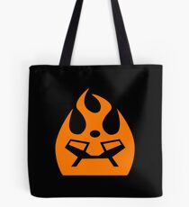 Lava Strike Force Emblem - Orange Tote Bag