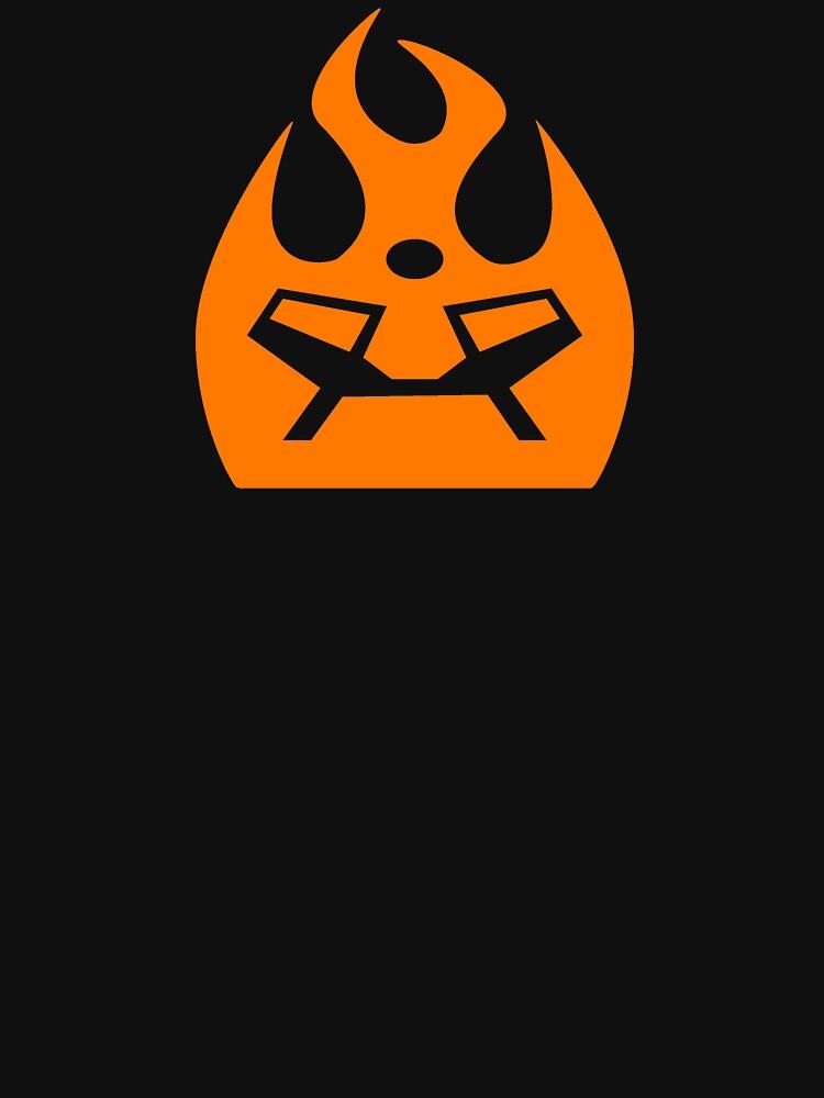 Lava Strike Force Emblem - Orange by spymonkey