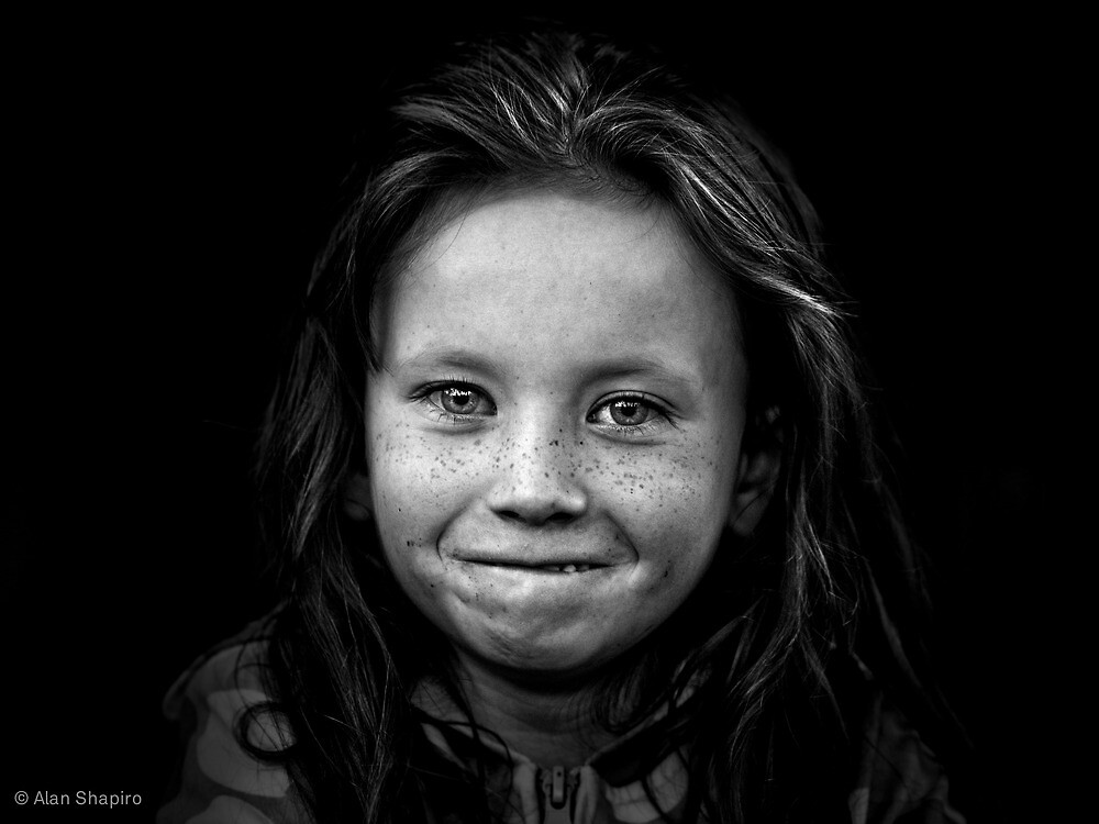 Another day, another smile kept under wraps as a courtesy so as not to blind the photographer by alan shapiro