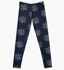 Remedial Chaos Theory Timeline Design Leggings