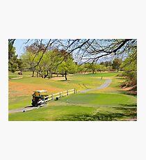Desert Hills Golf Course Photographic Print