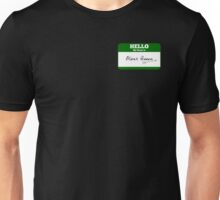 Hello My Name Is Oliver Queen Sticker - Green Arrow  Unisex T-Shirt