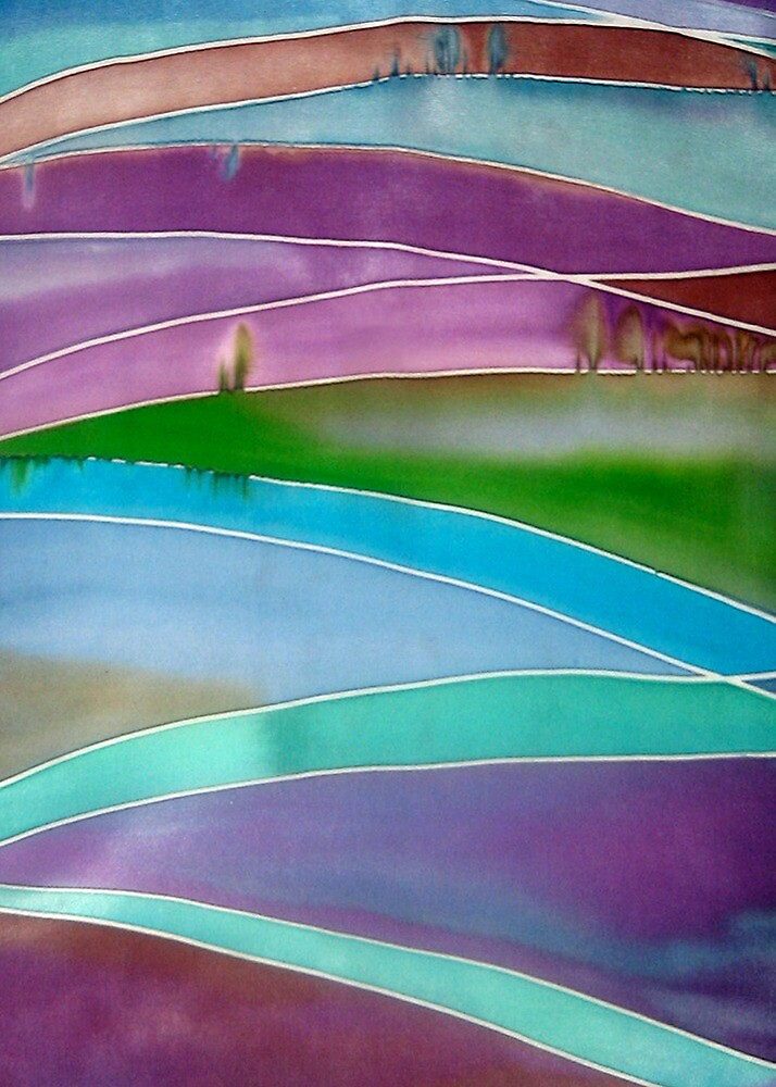 Abstract Horizon by Angel Ray