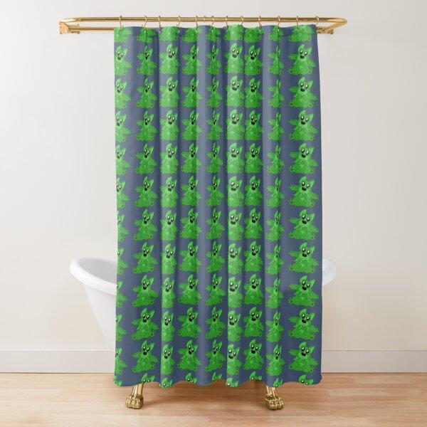 Corg'thulhu Shower Curtain