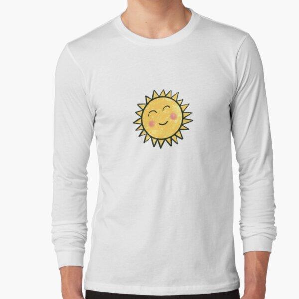 Happy Sun, Sunshine, Cute Sun Long Sleeve T-Shirt