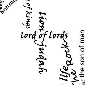 Jesus names by vonlutzow