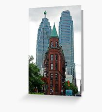 Triangular Brownstone, Toronto Greeting Card