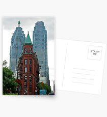 Triangular Brownstone, Toronto Postcards