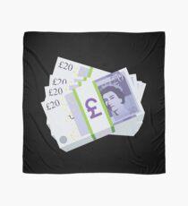 British Pounds Emoji JoyPixels Cash Money Scarf