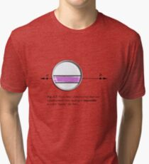 Coloring inside the lines Tri-blend T-Shirt