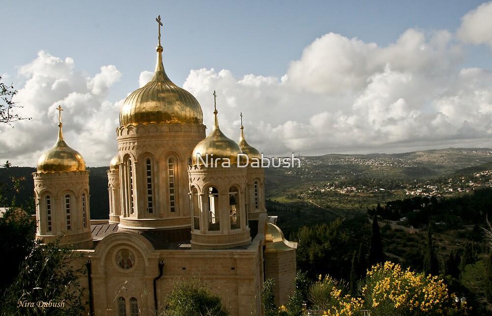 Russion Church - Ein Kerem - Jerusalem by Nira Dabush