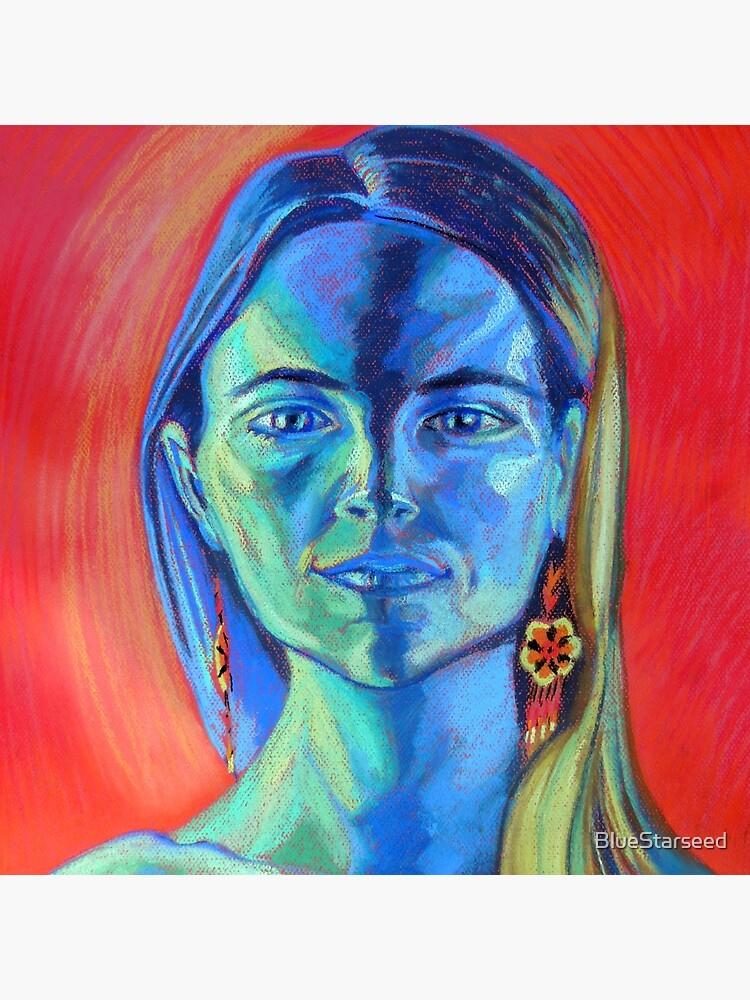 Blue Woman (self portrait) by BlueStarseed