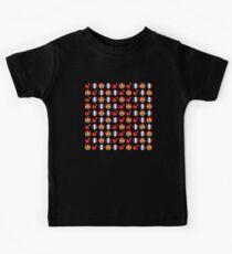 Love French Emoji JoyPixels Travel to France Kids T-Shirt