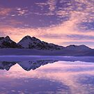 Mountain Sky Reflections by Hugh Fathers