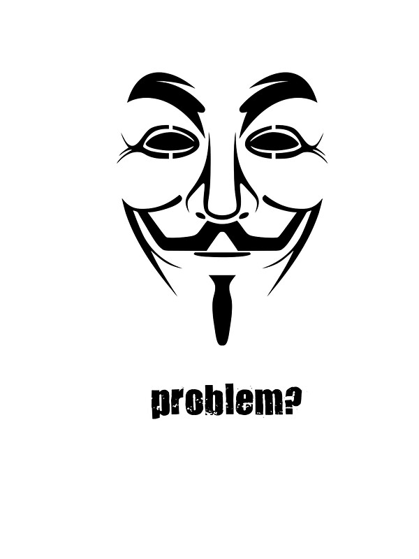 Anonymous guy fawkes mask symbol by phreshdesigns