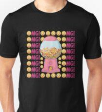 OMG Gumball-Maschine Emoji JoyPixels Cute Face Balls Slim Fit T-Shirt