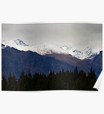 N.Z. Rugged Mountains 14 Poster