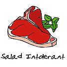 Salad Intolerant by memeshirtees