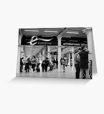 Eurostar Greeting Card
