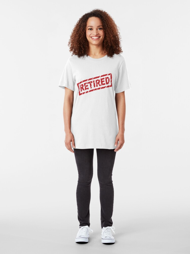 Alternate view of officially retired Slim Fit T-Shirt