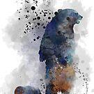 Mutter Bär und Cub von Marlene Watson