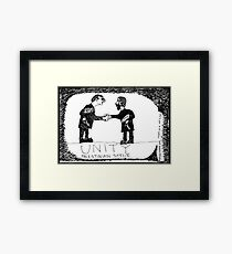 Trust Busters Framed Print