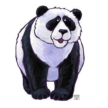 Animal Parade Panda Bear Silhouette by ImagineThatNYC
