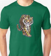 Animal Parade Tiger Silhouette Unisex T-Shirt