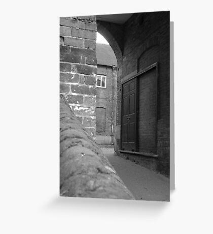 Through the Arch Greeting Card