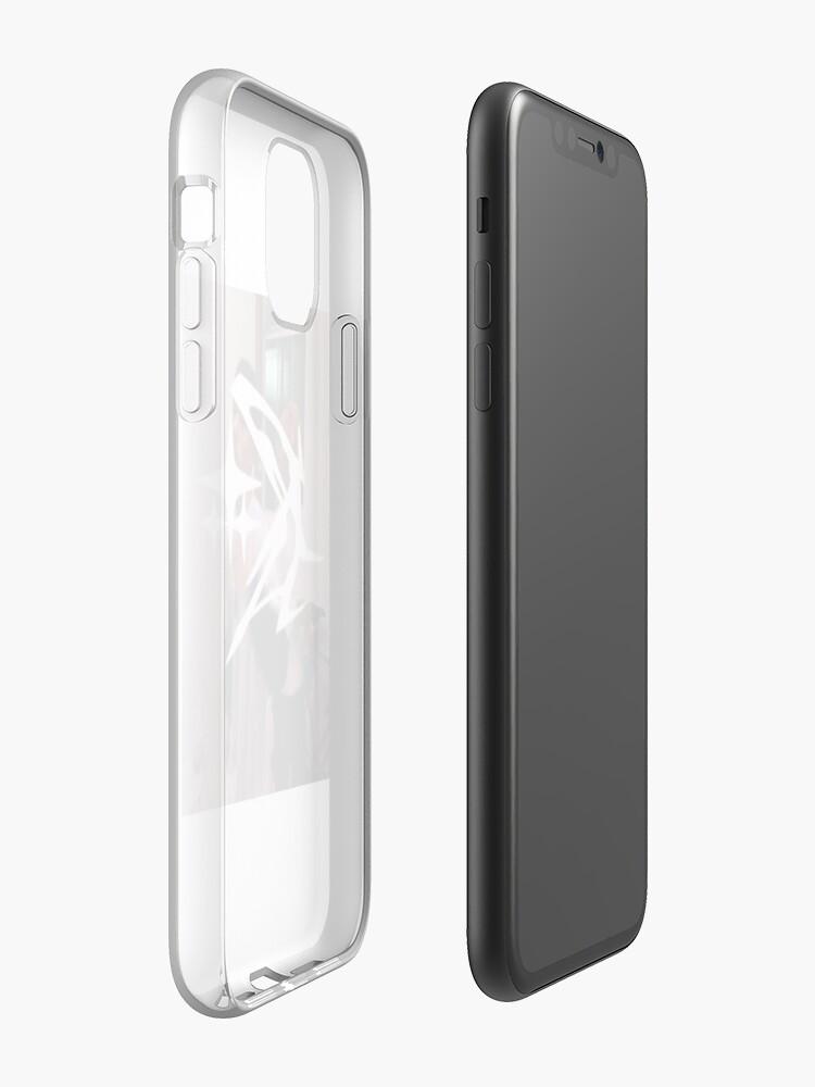 accessoire iphone x , Coque iPhone «GTB c'est mon gang des boucliers», par vaporwave