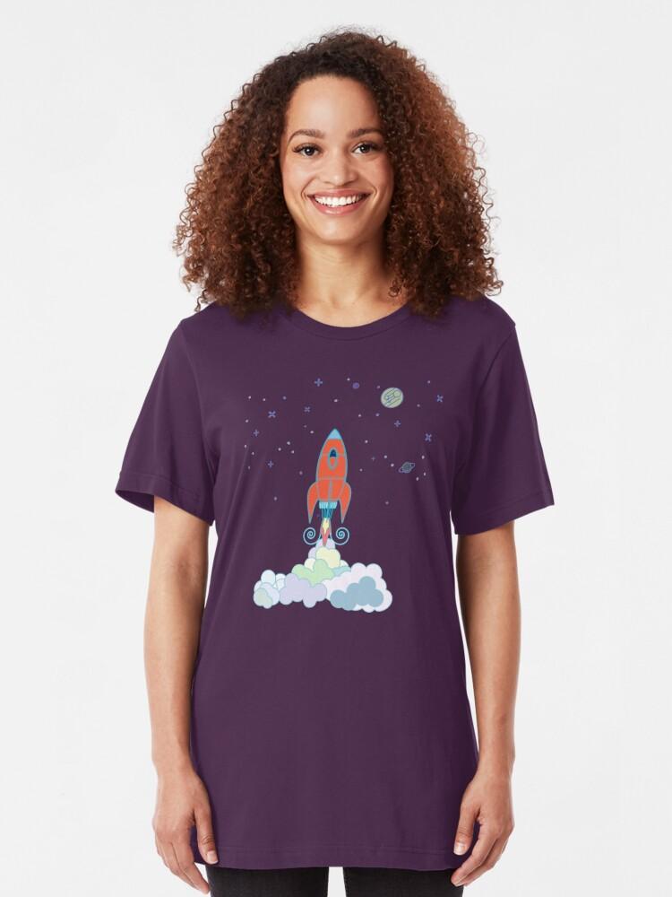 Alternate view of Rocket Launch Slim Fit T-Shirt