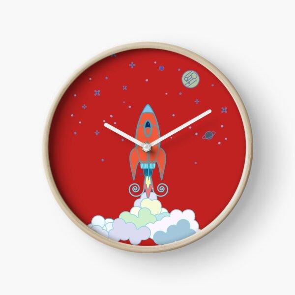 Rocket Launch Clock
