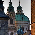 Church of St. Nicholas, Prague by Stepan Lorenc