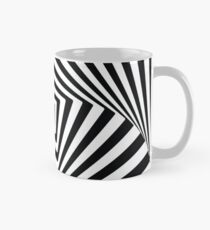 Black and White Optical Illusion Mug