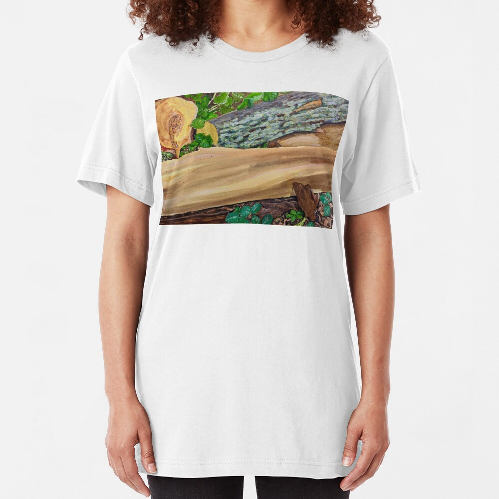 Forest Floor Slim Fit T-Shirt