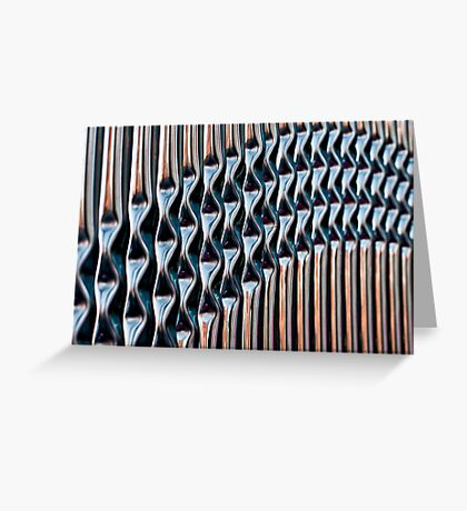 Railings Vertical Greeting Card