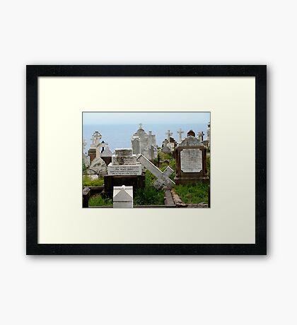 Broken Cross Framed Print