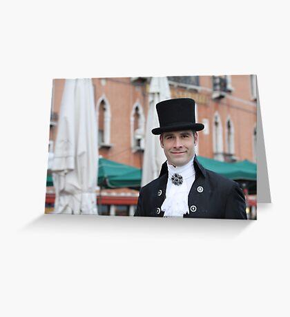 A Gentleman of Distinction Greeting Card