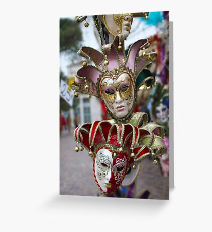 A Bounty of Masks Greeting Card