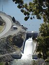 Unity Dam Spillway by Betty  Town Duncan