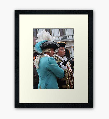 Two Fancy Gentlemen Framed Print